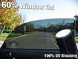 Complete Car Window Wrap 60% Smoke Tint Glass Vinyl Film (300'' x 60'' Bulk Roll)