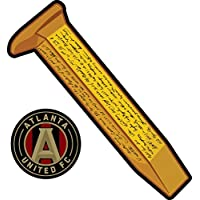 fan products of Atlanta United Golden Spike - 2 stickers in 1 All Weather Vinyl Sticker - With Sticky Back - - Used on all flat hard smooth clean surfaces - For Outdoor & Indoor Use