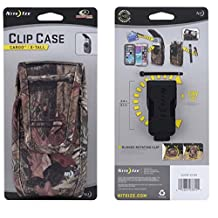 Mossy Oak Rugged Heavy Duty Case with Extra Pocket fits Samsung Galaxy S3 with Otterbox Defender Case on it.