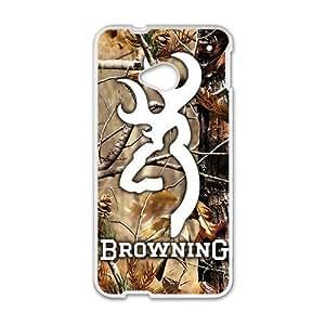 Browning White htc m7 case