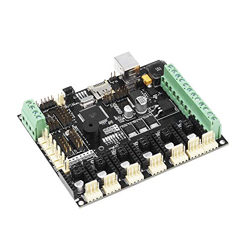 Zamtac 3D Printer Parts Controller Board Megatronics V3 Open-Source Firmware Version Integrates Marin AD597 for 3D DIY Motherboard Part - (Size: Without AD597) by GIMAX (Image #3)