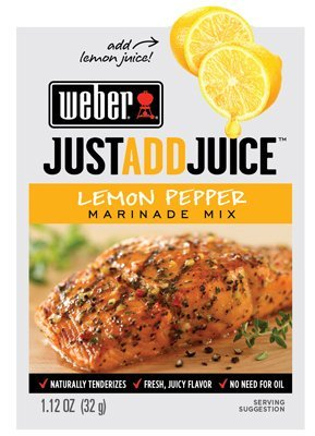 Weber Juice Marinade Lemon Pepper