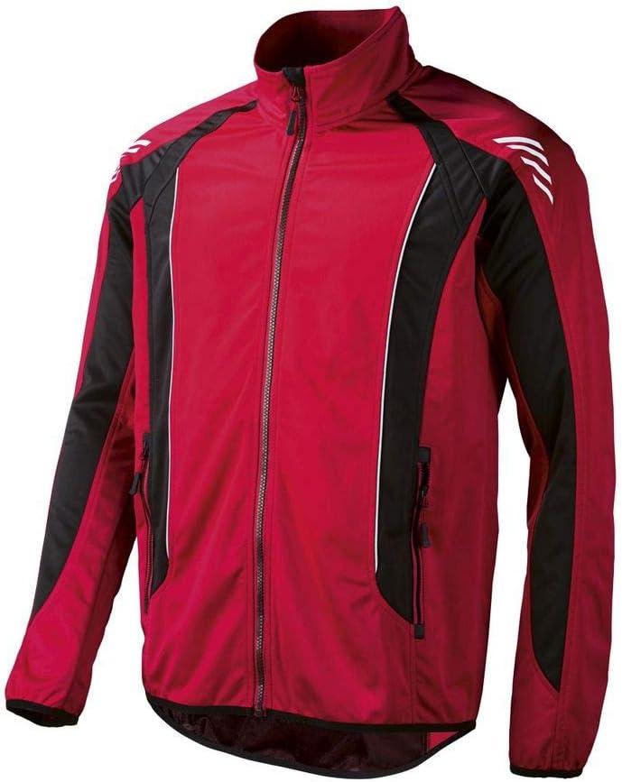 Crivit® Hombre Chaqueta Bicicleta Softshell – Función Chaqueta, Color Rojo y Negro, tamaño Large: Amazon.es: Deportes y aire libre