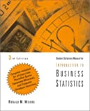 Introductory Business Statistics, Weiers, 0534353754