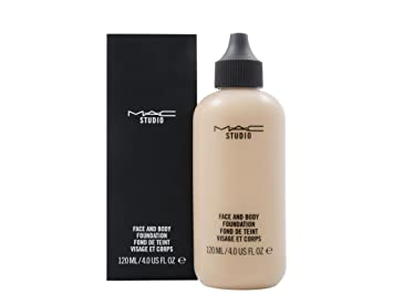 m a c studio face body foundation 120ml for her c3 amazon co uk