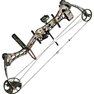 Bear Archery Charge Ready to Hunt Compound Bow Left Hand, 50#