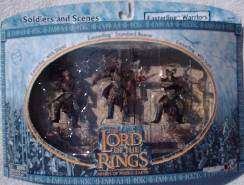 Lord of the Rings Armies of Middle Earth; Easterling Warriors Figure Set 1/24 Scale (Orcs In The Lord Of The Rings)