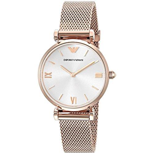 Emporio Armani Women's AR1956 Retro Rose Gold Watch