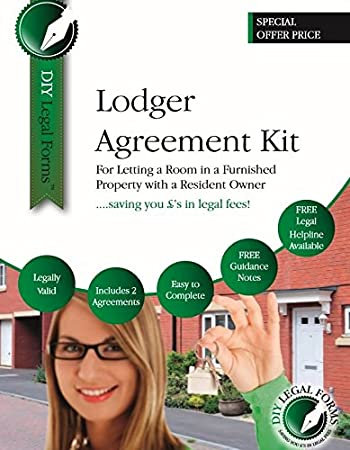 Lodger Agreement Kit Latest Edition Includes All You Need To