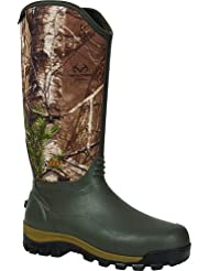 Rocky RKYS053-9 Core Rubber Boot Thinsulate 1000g Green/Realtree Size 9