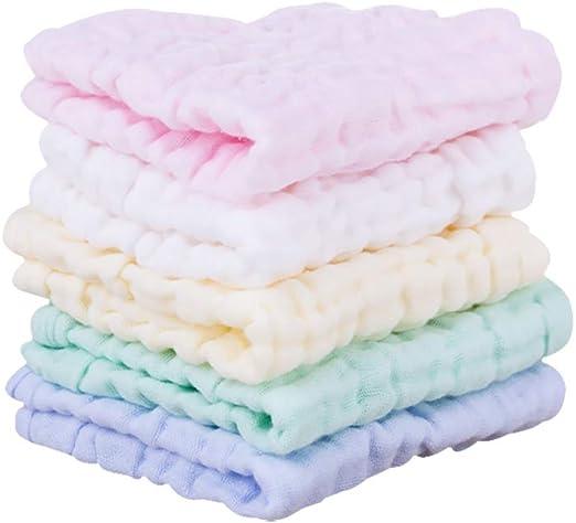 Paños de muselina de algodón natural para bebé recién nacido ...