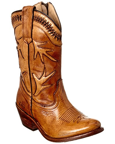 Bed | Stu Lancy Womens Windsor Tan Gla Boots Bruin
