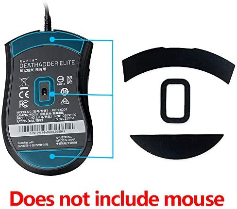 Baiko 2 Sets//Pack Games Competition Level Mouse Feet Mouse Skates Gildes Compatible with Razer DeathAdder Essential 2000 Mouse