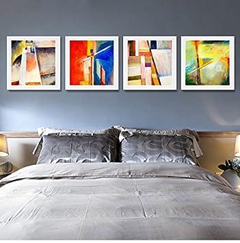 Abstrakte Dekorative Malerei Farbe Einfache Art Gemälde Moderne  Minimalistischen Wohnzimmer Schlafzimmer Wandfarbe, Schwarz / Weiß