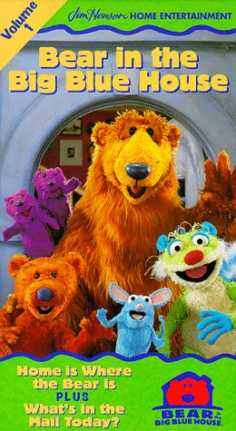 Bear in the Big Blue House, Vol. 1 - Home Is Where the Bear Is / What's in the Mail Today [VHS] (Big Vhs compare prices)