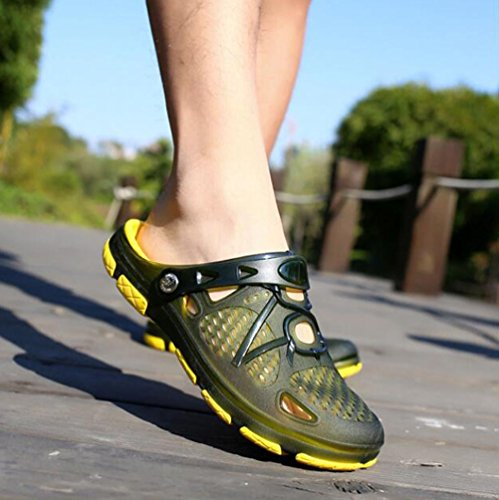 de Zapatos playa Chanclas respirables deslizador verano YWNC hombre del ocasionales de sandalias del 1 zapato de R0qwd08