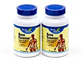 Bone Essense with Kolla2 - Kolla2 300mg, Glucosamine, Chondrotin Sulphate, Calcium - 60 Capsules - Best in Nature (Bundle, Pack of 2)