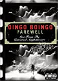 Oingo Boingo - Farewell (Live from the Universal Amphitheatre)