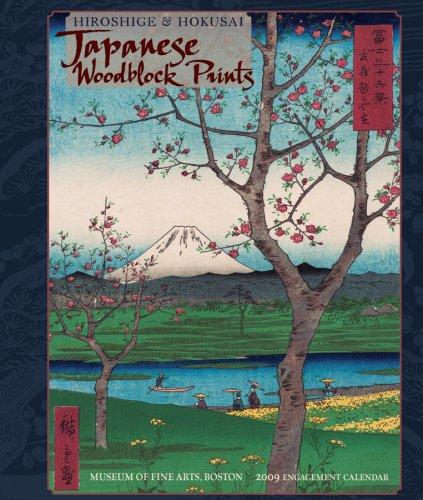 Hiroshige and Hokusai: Japanese Woodblock Prints 2009 Engagement Calendar - 2009 Calendar Print