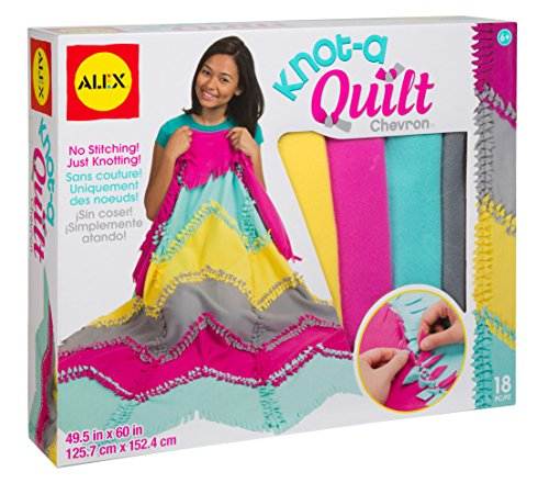 ALEX Toys Craft Knot-A-Quilt Chevron Kit