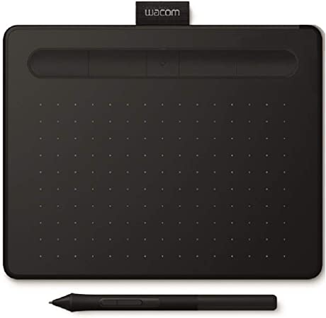 Oferta amazon: Wacom Intuos S Tableta Gráfica Bluetooth para pintar, dibujar, editar fotos con 2 softwares creativos incluidos para descargar, Windows & Mac, óptima para la educación en línea y el teletrabajo, negra