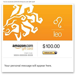 Amazon Gift Card - Email - Birthday (Leo: July 23-Aug. 22) (B00DNHL7CM) | Amazon price tracker / tracking, Amazon price history charts, Amazon price watches, Amazon price drop alerts