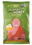 LesserEvil Buddha Bowl Organic Popcorn, Honey & Jalapeno, 5.0 Ounce (Pack of 12)