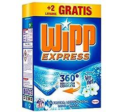 Wipp Express Detergente en Polvo - 10 Lavados (0,65 Kg): Amazon.es ...