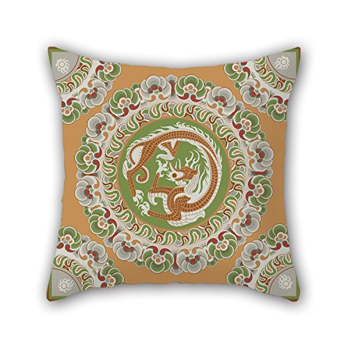 Niceplw The Circle Pillowcover Of  16 X 16 Inches   40 By 40 Cm Decoration Gift For Study Room Couch Festival Monther Saloon Wife  Double Sides