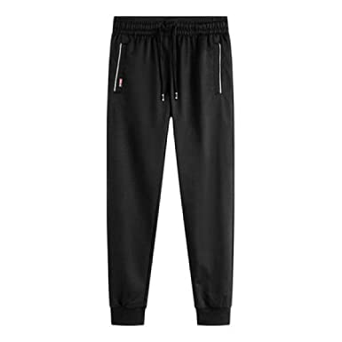 97be97fc69a2 FLAMINGO STORE Sportswear Pants Pencil Pants Mens Fitness Sweatpants  Trousers Hip Hop Jogger at Amazon Men s Clothing store