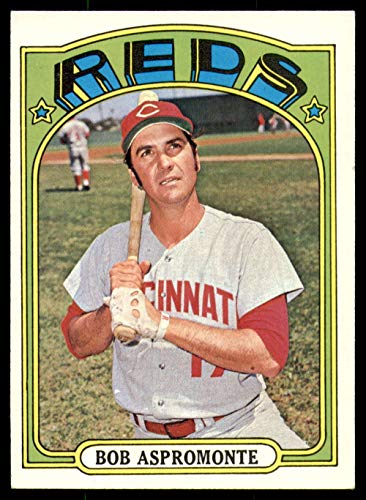 1972 Topps #659 Bob Aspromonte Ex-Mint Reds High Number
