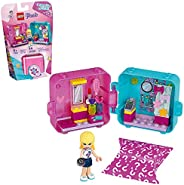 LEGO Friends Stephanie's Shopping Play Cube 41406 Building Kit, Mini-Doll Set That Promotes Creative Play, New
