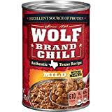 Wolf Brand Mild Chili with Beans, 15 Ounce