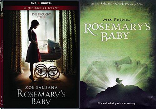 Rosemary's Baby DVD Movie Set The Miniseries & Mia Farrow Original Horror Movie Double Feature (Halloween Horror Nights Texas Chainsaw Massacre)