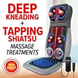 Daiwa Felicity Heated 3D Shiatsu Kneading & Tapping Back Neck...