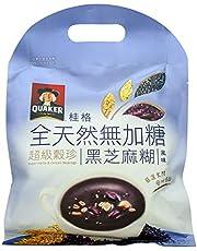 Quaker Super Herbs and Cereals Beverages No Sugar Sesame Paste, (10 x 25g), 250g