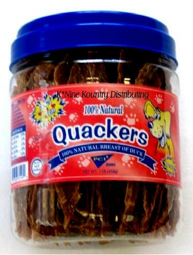 (Cs/12 - Quackers (1# canisters))