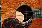 STRUMHARD Guitar Soundhole Guard/Soundhole Pick Strike Protector/Deflector (Clear)