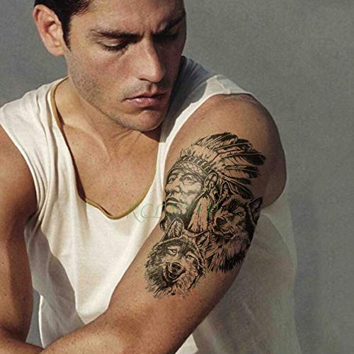 tzxdbh Pegatinas para Tatuajes temporales a Prueba de Agua Que ...