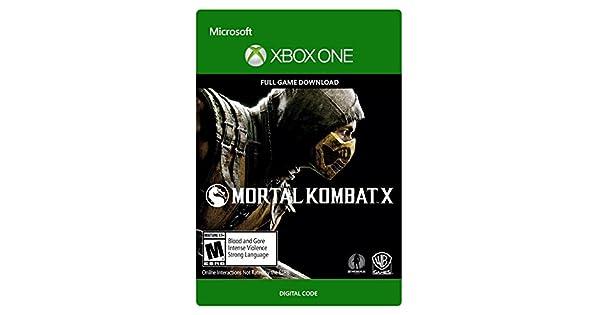 Amazon.com: Mortal Kombat X - Xbox One [Digital Code]: Video ...