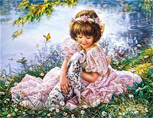 DIY 5D Diamond Painting Full Drilling Embroidery Rhinestone Paste Angel3 DIY Painting Cross Stitch Household A Living…