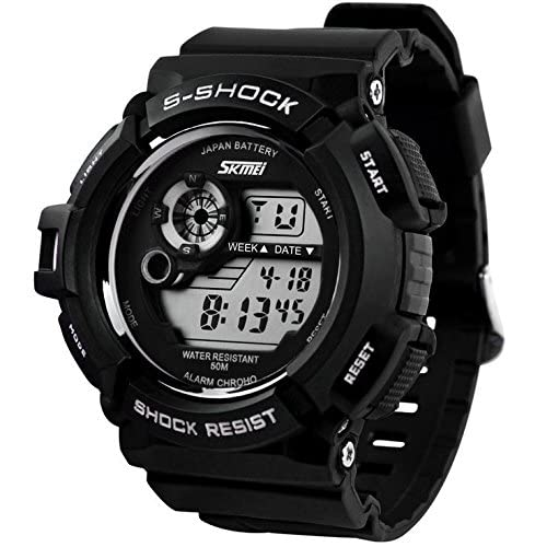 Relojes de Hombre Sport LED Digital Military Water Resistant Watch Digital Men De Hombre Para Caballero