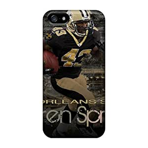 Anoloy5467 Scratch-free Phone Cases For Iphone 5/5s- Retail Packaging - New Orleans Saints