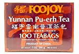 Foojoy Yunnan Bo Nay Tea - 100 Tea Bags (7.0 Oz)