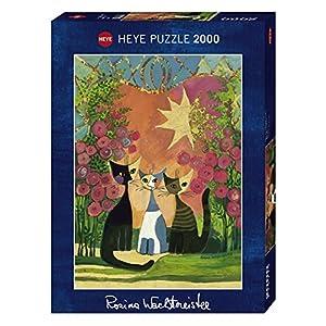 Heye Vd 29721 Puzzle Roses Stamped