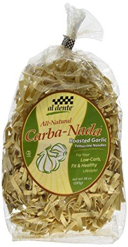 Price comparison product image Al Dente Carba-Nada Roasted Garlic Fettucine,10 OZ
