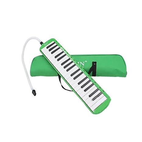 Elenxs 37 teclas de piano Melódica del órgano de boca de la armónica del instrumento musical