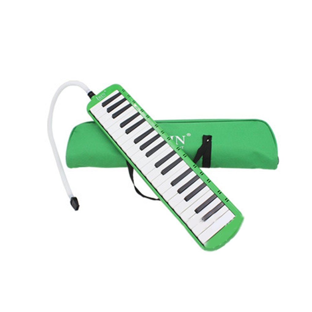 Loria 32/37 Piano Keys Melodica Musical Education Instrument Mouth Organ Harmonica with Bag for Adults Students Use