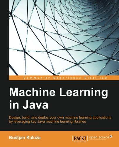 Machine Learning in Java by Packt Publishing - ebooks Account