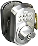 Schlage BE365VPLY626 Plymouth Keypad Deadbolt, Satin Chrome